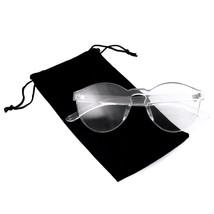Colorati Intero senza Montatura Trasparenti Occhiali da Sole Donna Tinto - $8.08+