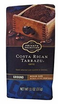 Private Selection Ground Coffee Various Flavors and Sizes (Costa Rican Tarrazu,  - $16.77