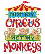 Not My MonkeysLet's Smile cross stitch chart Im... - $5.40