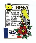 Iowa The Hawkeye State Montage Fridge Magnet - $4.00
