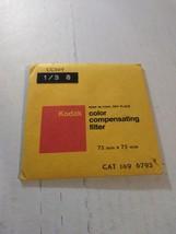 Kodak CC30Y Color Compensating Filter, 75mm x 75mm, Gelatin Wratten Filter, NOS - $19.17
