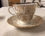 Queen Anne Coffee Cup and Saucer G174 - Bone China - Made in England