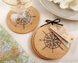 """Let the Journey Begin"" Cork Coasters Set of 12 - $29.18"