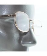 Reading Glasses Petite Classic Soft Rectangle Gold Metal Frame +1.75 Lens - $18.00