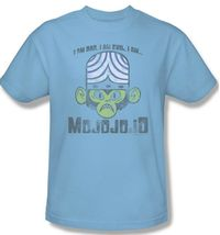 Mojojojo I am Bad Evil T-shirt Powerpuff Girls 100% cotton graphic tee cn241 image 3