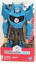 "Transformers ~ Combiner Force Steeljaw 6"" action figure Titan guardians (S) - $5.95"