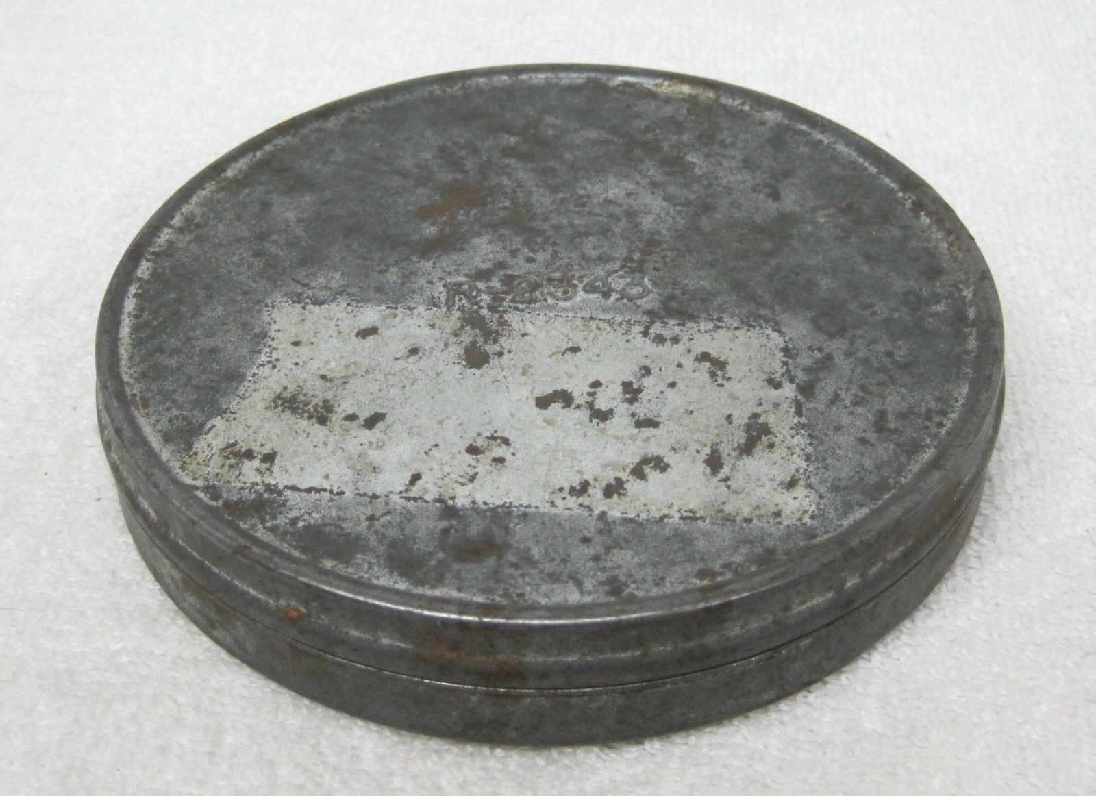 Primary image for Cool Old Small Metal Film Tin 5 x 7/8 Inches R-2343