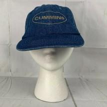 Vintage Sportsman Cummins Diesel Denim Strapback Hat - $9.59
