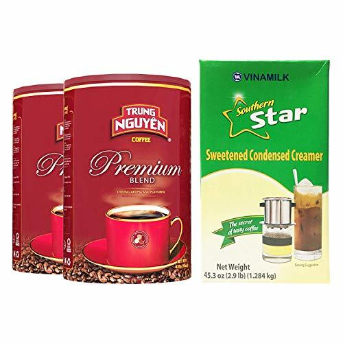 Primary image for Trung Nguyen - Premium Blend - 15 Ounce Can (2 Pack) | Vietnamese Premium Coffee