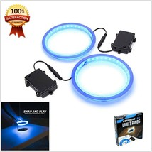 Corn Hole Light Up LED Ring Kit 2 Piece Set Compatible With All Corn Hol... - $19.13