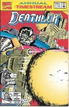 Deathlok Comic Book Annual #1 Marvel Comics 1992 NEAR MINT NEW UNREAD - $3.99