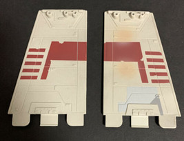 Set Of 2 Wings Death Star Trench Run Luke Red 5 X-Wing Replacement Parts 2011 - $28.04