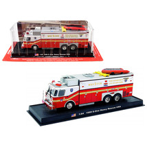 1999 E-One Heavy Rescue Fire Engine Fire Department City of New York (FD... - $40.84