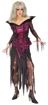 Spiderweb Dress and black ripped Deluxe Creeping Beauty Gothic Costume N... - $362,13 MXN