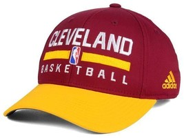 Cleveland Cavaliers Adidas NBA Basketball Adjustable 2 Tone Slouch Cap Hat - $16.14