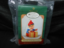 "Hallmark Keepsake ""Ready For Delivery"" 2001 Collector's Club Ornament NEW - $2.03"