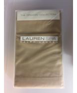 New Ralph Lauren Organic Spa Collection Std. Pillowcases Ochre  2 cases ... - $40.19