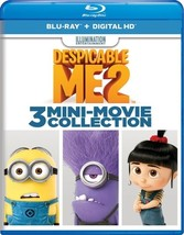 Despicable Me 2-3 Mini-Movie Collection (Blu Ray W/Digital Hd)