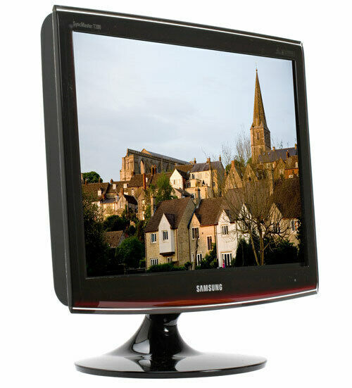 "Primary image for Samsung T200 20"" Widescreen 2ms Rose Black LCD Monitor TFT with Premium DVI"