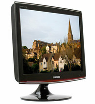 "Samsung T200 20"" Widescreen 2ms Rose Black LCD Monitor TFT with Premium DVI - $41.38"