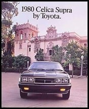 1980 Toyota Prestige Celica Supra Brochure - HUGE - $17.80