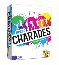 Charades Party Game – Speed Charades Board Game – Fast-paced Family Game... - $26.15