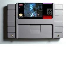 Clock Tower Super Nintendo SNES 16 BIt Cartridge Card US Version Battery... - $24.43
