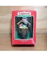 NIB Hallmark Chris Mouse Dreams Lighted Christmas Ornament 1986 Plastic ... - $18.95
