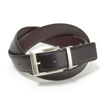 Calvin Klein Men's 35mm Reversible Genuine Leather Harness Buckle Belt 7538796