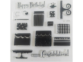 Close to My Heart Build-a-Cake Clear Stamp Set #D1618 image 2