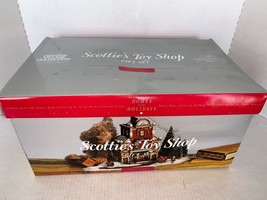 Dept 56 Christmas In The City Scottie's Toy Shop Gift Set 10 #58871 - $60.00