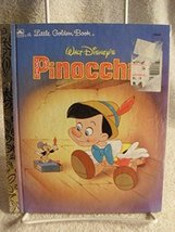 RARE LITTLE GOLDEN BOOK WALT DISNEY'S PINOCCHIO 1990 CHILDREN'S BOOK [Mi... - $20.38