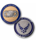 NEW USAF U.S. Air Force Security Forces Challenge Coin. 78169. - $13.99