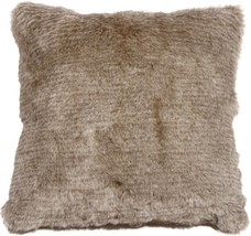 Pillow Decor - Tundra Hare Faux Fur 20x20 Throw Pillow - $39.95