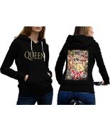 Queen Band Freddie Mercury  Hoodie Classic Women Black - $35.99