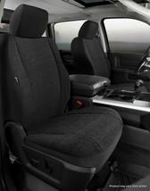 Fia Front Bucket Custom Seat Covers Saddle Blanket Black for 18-20 Nissan Titan - $152.46