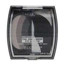 3 Pack- L'Oreal The One Sweep Eye Shadow #308 Smoky For Green Eyes - $21.00