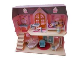 Mimi World Let's Play in a Two story House Dollhouse Doll Role Play Toy Set image 3