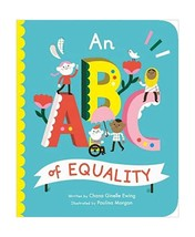 An ABC of Equality Board book by Chana Ginelle Ewing Children's Alphabet... - $21.95