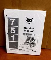 Bobcat 751 BICS Loader Service Shop Repair Manual 514711001 514911001 5/97 - $50.00