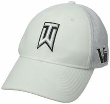 NEW! Nike Men's Tiger Woods Tour Legacy Mesh Hat, White, Small/Medium - $59.28