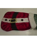 Dog Cat Santa Claws Claus Suit Coat Red Fur Size Small Fits 7-12 Pounds NWT - $9.95