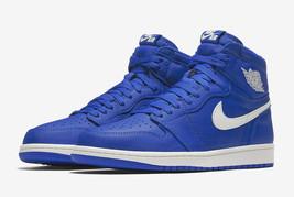 Nike Air Jordan Retro 1 Hyper Royal Hi 555088-401 Basketball Shoes Men - $149.95
