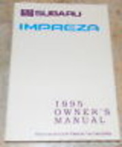 1995 subaru impreza owners manual new original - $21.77
