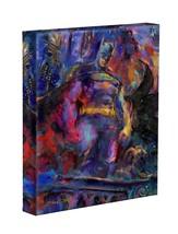 The Dark Knight 14 x 11 Gallery Wrap by Artist Blend Cota - DC Comics - Batman - $79.00