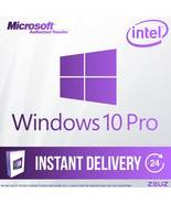 Brand New Windows 10 Pro 32/64 bit License RETAIL INTEL - $25.99