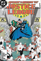 Justice League Comic Book #3 DC Comics 1987 VERY FINE- - $2.99