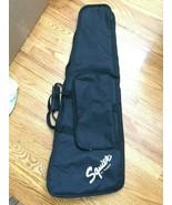 Squire by Fender Black Canvas Guitar Gig Travel Bag Soft Case - $89.99