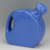 Vintage Cambridge Pottery Blue Refridgerator Water Bottle Jug with Stopper image 2