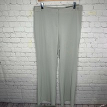 NWT Express Women's Gray Ponte Flare Pants Precision Fit Stretch Size 9/10 - $28.86